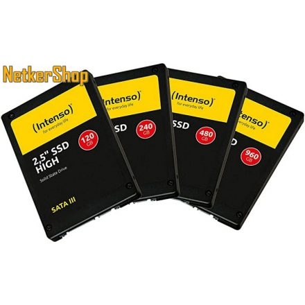 "Intenso 120GB High Performance (3813430) SATA3 2.5"" SSD merevlemez (2 év garancia)"