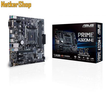 ASUS PRIME A320M-E AM4 DDR4 alaplap (3 év garancia)