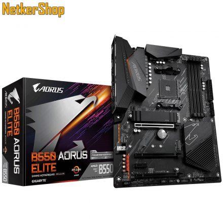 GIGABYTE B550 AORUS ELITE AM4 DDR4 alaplap (3 év garancia)