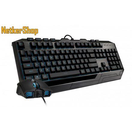 Cooler Master Devastator 3 Plus (SGB-3001-KKMF1-HU) Black HU Gaming billentyűzet + egér combo (2 év garancia)