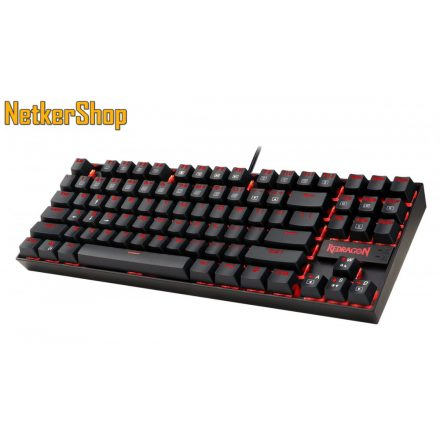 Redragon Kumara 2 K552-2 Red LED Backlit Blue Mechanical Black HU Gaming billentyűzet (2 év garancia)