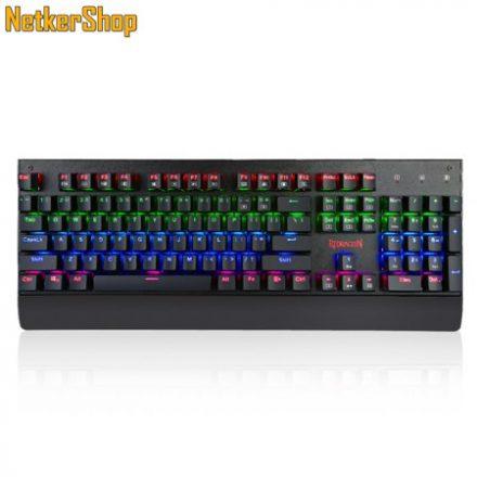 Redragon Kala K557 RGB Backlit Waterproof Mechanical Black HU Brown Switches Gaming billentyűzet (2 év garancia)