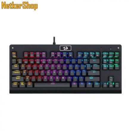 Redragon Dark Avenger K568 RGB Brown Mechanical Black HU Gaming billentyűzet (2 év garancia)