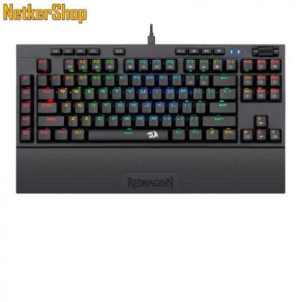 Redragon Vishnu K596RGB Wireless/Wired Brown Mechanical Black HU Gaming billentyűzet (2 év garancia)