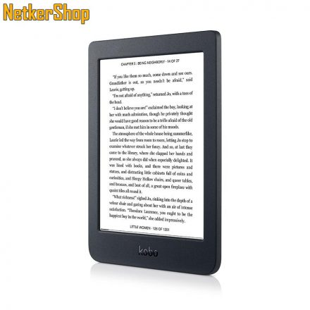 "Kobo Nia 6"" 8GB Wi-Fi fekete e-book olvasó (2 év garancia)"