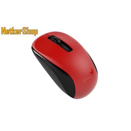 Genius NX-7005 (31030127103) Wireless BlueEye piros egér (2 év garancia)