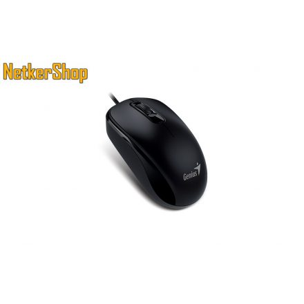 Genius DX-120 (31010105106) Black egér (2 év garancia)