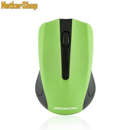 Modecom MC-WM9 Wireless Black/Green egér (2 év garancia)