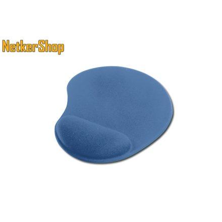 Ednet (64218) kék zselés csuklótámaszos egérpad (1 év garancia)