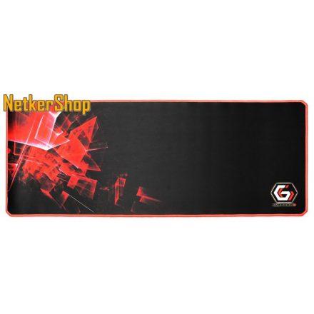 Gembird MP-GAMEPRO-XL fekete gaming egérpad (1 év garancia)