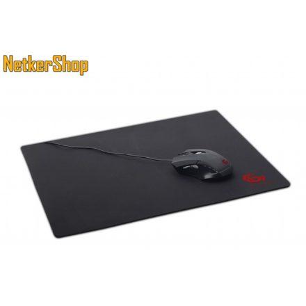 Gembird MP-GAME-L fekete gaming egérpad (1 év garancia)