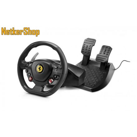 Thrustmaster T80 Ferrari 488 GTB Edition PC/PS4 kormány + pedál (1 év garancia)