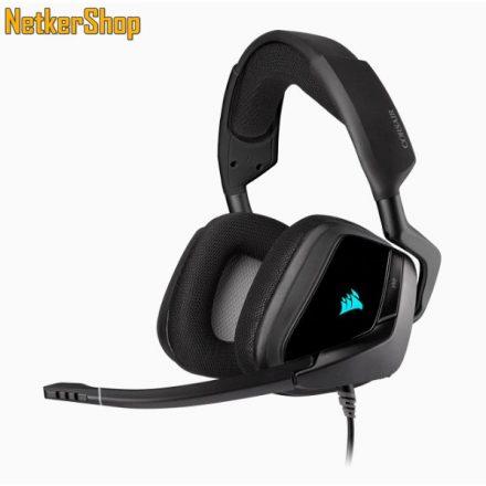 Corsair Void RGB Elite (CA-9011203-EU) USB 7.1 Carbon mikrofonos gaming fejhallgató headset (2 év garancia)
