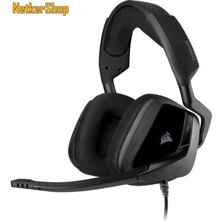 Corsair Void Elite Stereo (CA-9011208-EU) Carbon mikrofonos gaming fejhallgató headset (2 év garancia)