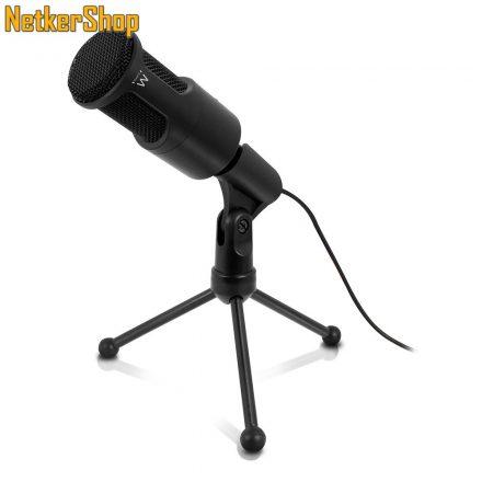 Ewent EW3552 multimedia mikrofon zajszűrős (5 év garancia)
