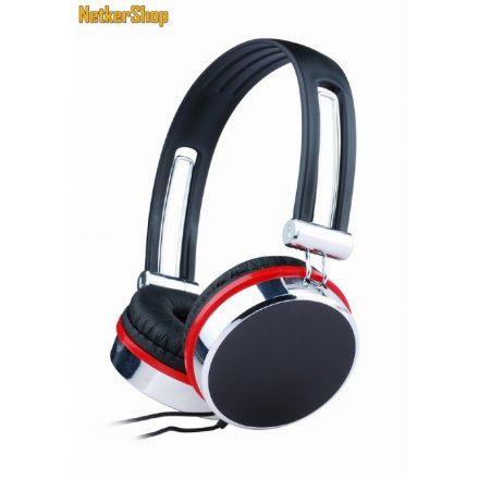 Gembird MHP-903 Black/Red fejhallgató (1 év garancia)