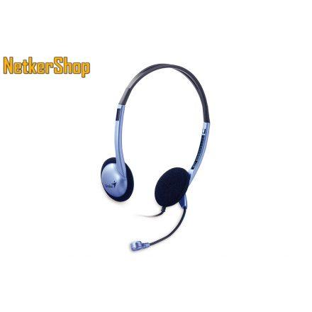 Genius HS-02B (31710037100) Purple/Black mikrofonos fejhallgató headset (2 év garancia)