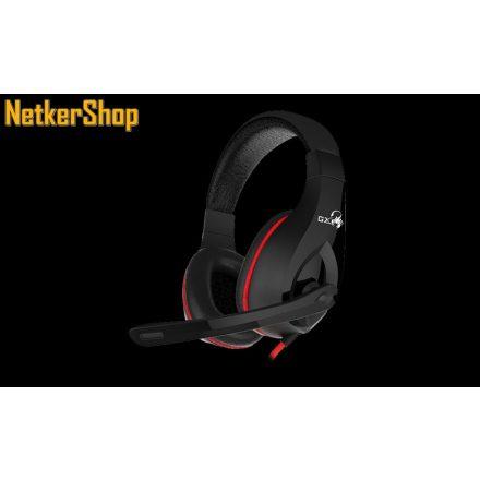 Genius Lychas HS-G560 (31710007400) fekete mikrofonos gaming fejhallgató headset (2 év garancia)