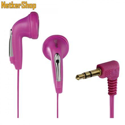 Hama HK-1103 (122722) pink fülhallgató (1 év garancia)