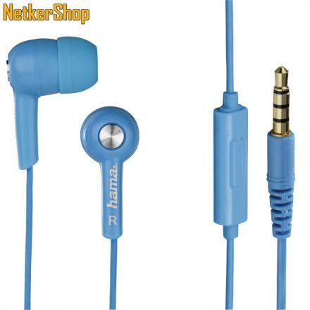 Hama HK-2114 (122691) kék mikrofonos fülhallgató headset (1 év garancia)