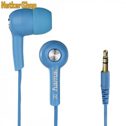 Hama HK-2103 (122726) kék fülhallgató (1 év garancia)