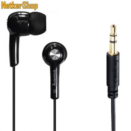 Hama Basic4Music (184003) fekete fülhallgató (1 év garancia)