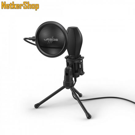 Hama uRage Stream 400 Plus (186018) fekete gaming mikrofon (1 év garancia)