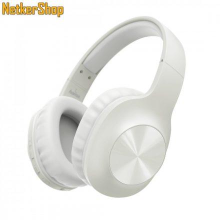 Hama Calypso (184062) Bluetooth fehér mikrofonos fejhallgató headset (1 év garancia)