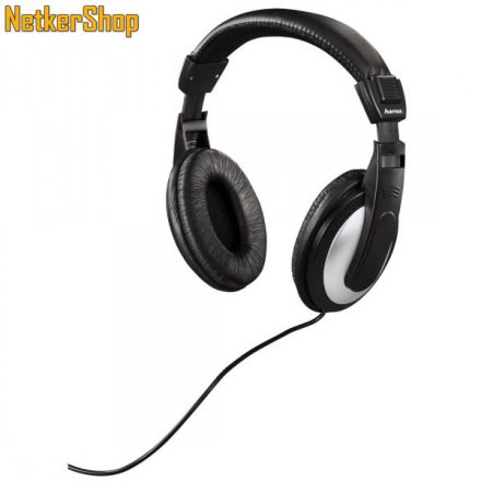 Hama HK-5619 (184013) Black/Silver fejhallgató (1 év garancia)