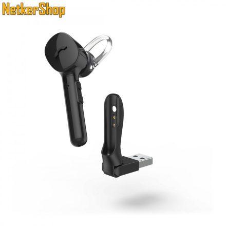 Hama MyVoice1300 (177060) Mono Bluetooth fekete mikrofonos fülhallgató headset (1 év garancia)