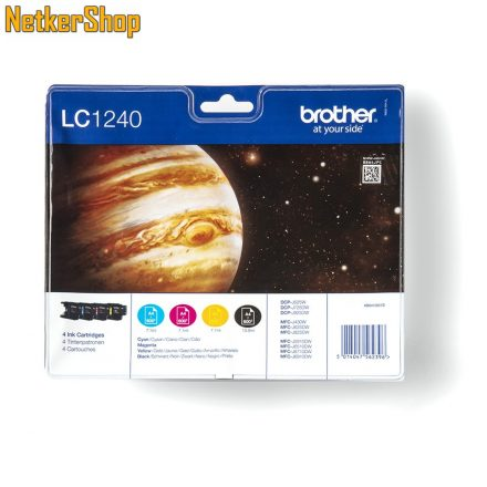 Brother LC1240VALBP CMYBK Multipack eredeti tintapatron (1 év garancia)