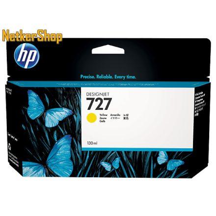 HP B3P21A (727) sárga eredeti tintapatron (1 év garancia)