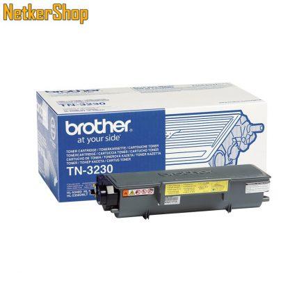 Brother TN-3230 fekete eredeti toner (1 év garancia)