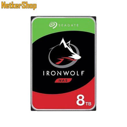 Seagate Ironwolf ST8000VN004 8TB 7200rpm SATA3 256MB NAS merevlemez winchester HDD (3 év garancia)