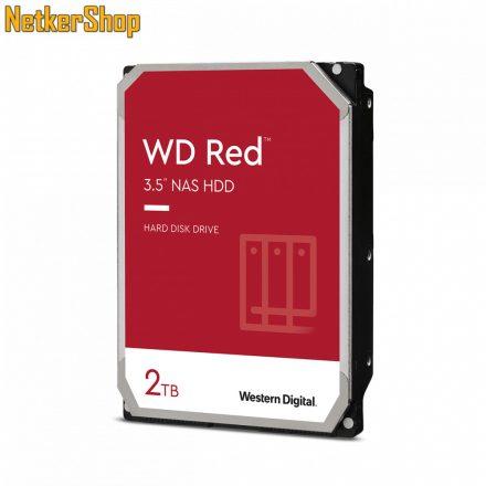Western Digital Red WD20EFAX 2TB 5400rpm SATA3 256MB merevlemez winchester HDD (3 év garancia)