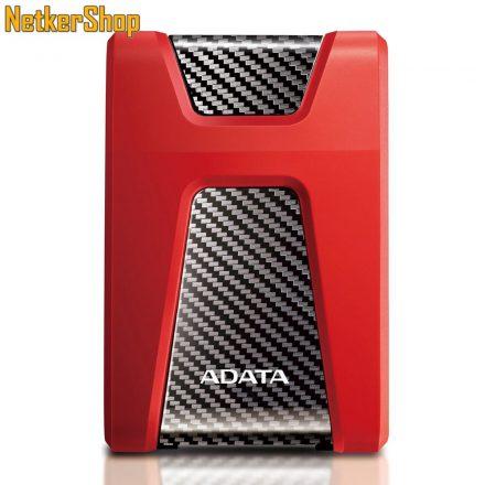 "A-Data HD650 (AHD650-1TU31-CRD) 1TB USB3.1 piros 2.5"" külső merevlemez winchester HDD (3 év garancia)"