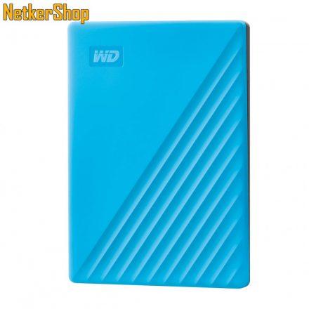 """Western Digital My Passport (WDBYVG0020BBL-WESN) 2TB USB3.2 kék 2.5"""" külső merevlemez winchester HDD (3 év garancia)"""