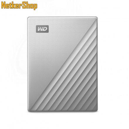 "Western Digital My Passport Ultra (WDBC3C0010BSL-WESN) 1TB USB Type-C (USB3.0) ezüst-fekete 2.5"" külső merevlemez winchester HDD (3 év garancia)"