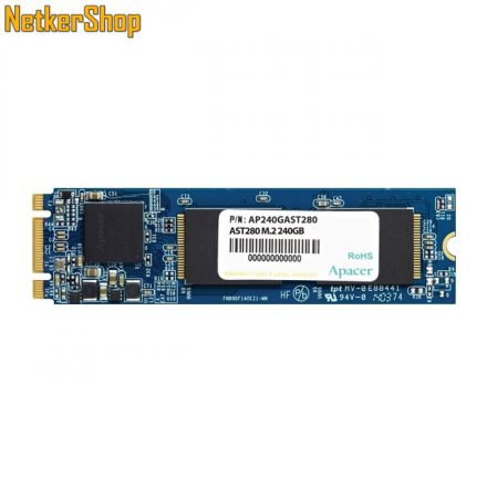 Apacer AST280 (AP240GAST280-1) 240GB SATA3 M.2 2280 SSD merevlemez (3 év garancia)