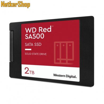 "Western Digital Red SA500 WDS200T1R0A 2TB SATA3 2.5"" NAS SSD merevlemez (5 év garancia)"