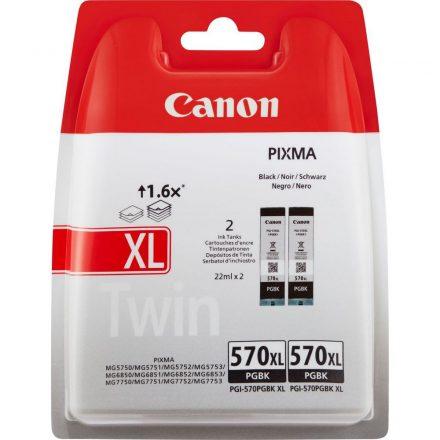 Canon PGI-570XL PGBK dupla fekete (0318C007) eredeti tintapatron (1 év garancia)